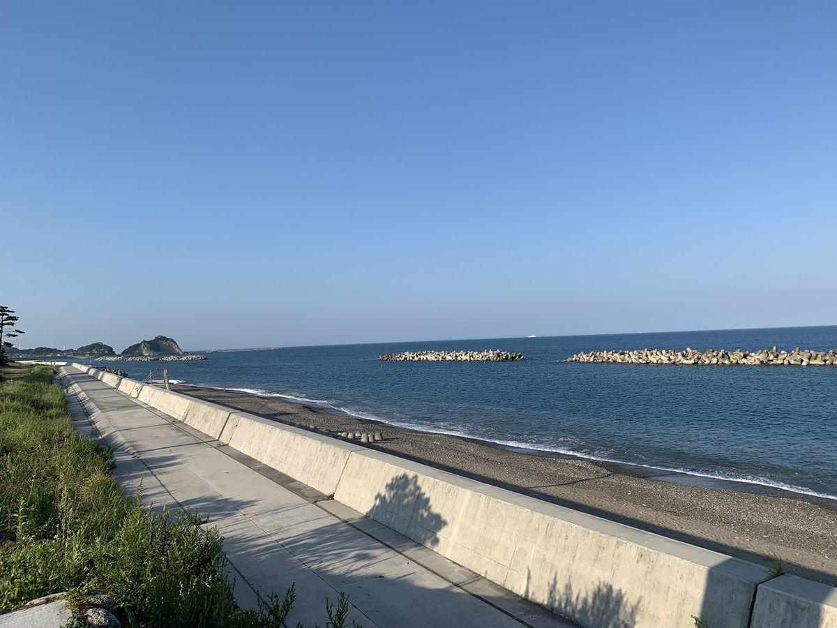 四ツ倉 海 海岸