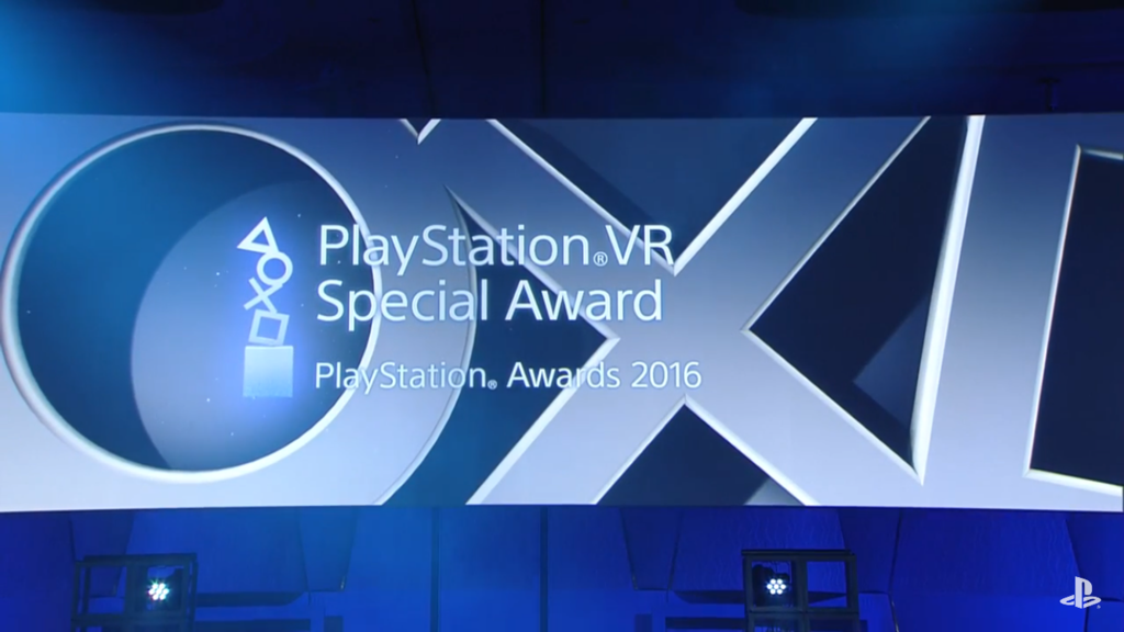 PlayStation VR特別賞