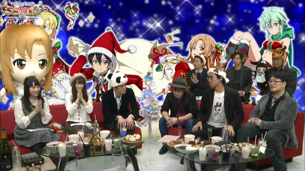 クリスマスだよ!全員集合!SAOゲーム・アニメ・原作生放送2時間SPゲスト情報