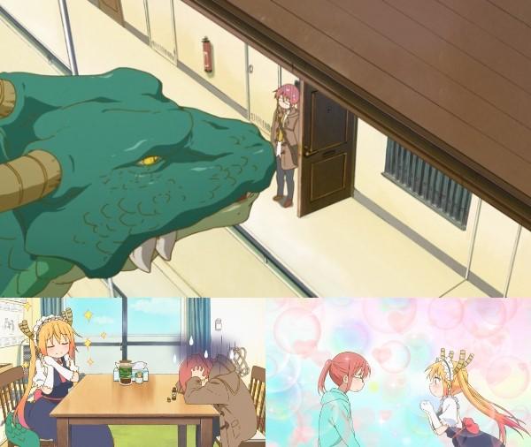 第1話「史上最強のメイド、トール!」(まあドラゴンですから