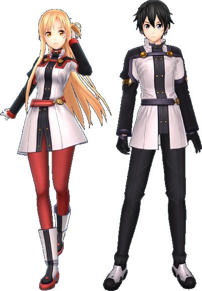 無料DLC劇場版衣装「キリト」「アスナ」