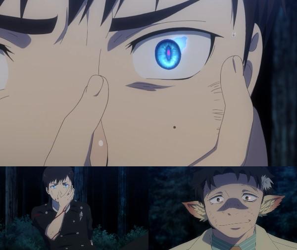 雪男の青い目