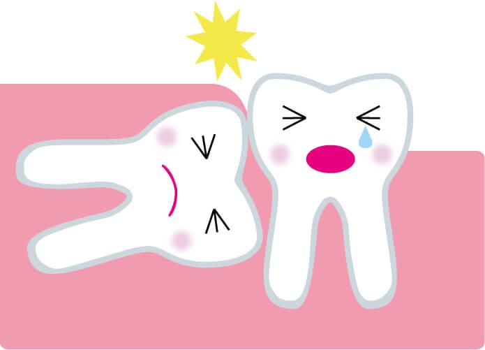 抜歯後3時間は刺激物に注意