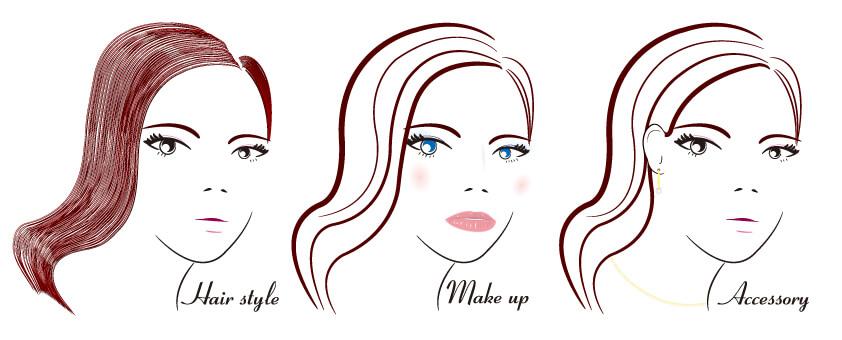 ジェンダーレスの髪型も特徴的