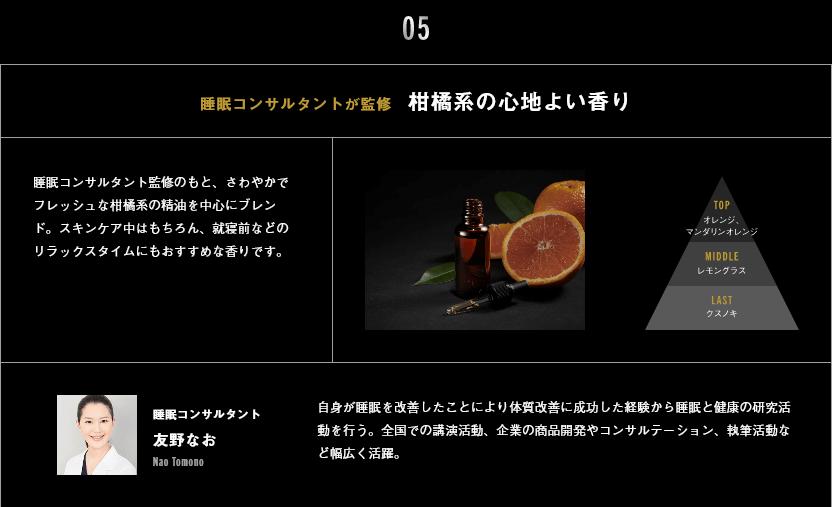 ミスターエイヤはフレッシュな柑橘系の香り
