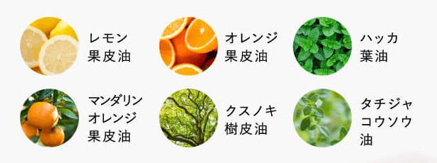 リーラオーガニクスは10種のエキス配合
