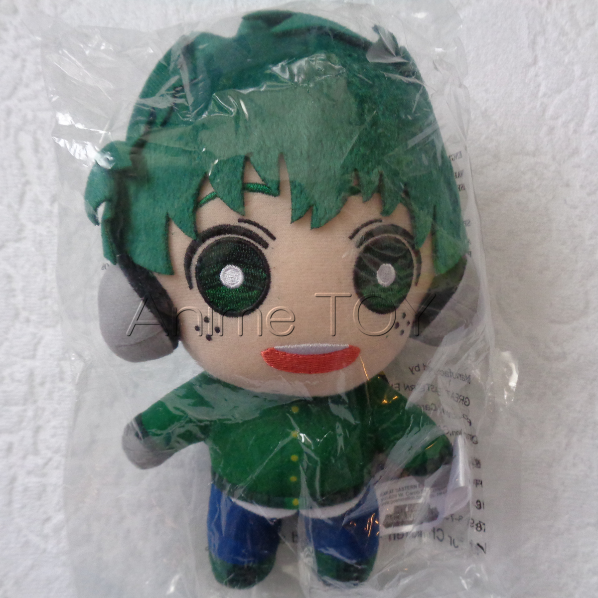 僕のヒーローアカデミア 緑谷出久 冬服 ぬいぐるみ 海外 グッズ ヒロアカ 雪 人形