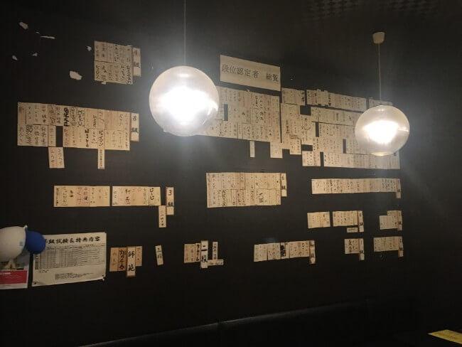 札幌ダーツ道場ダブル段位認定者一覧