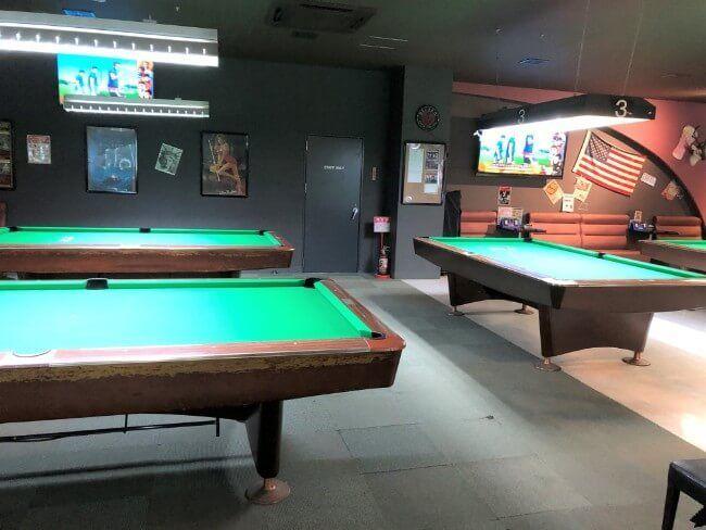 ポイント国立旭通り店ビリヤード