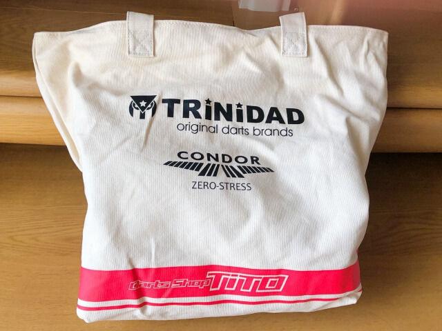 TiTO福袋のトリニダード限定トートバック