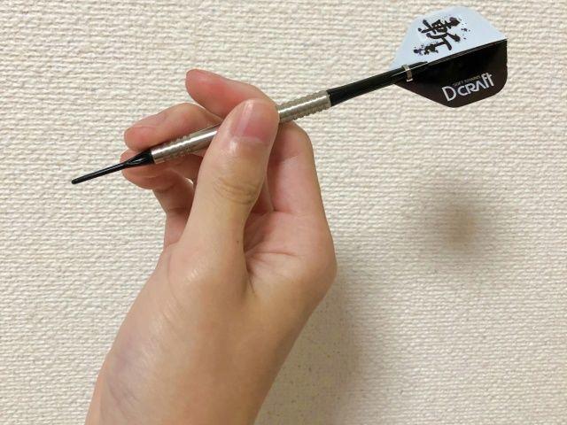 ディークラフト斬シリーズの風車斬りのグリップ例