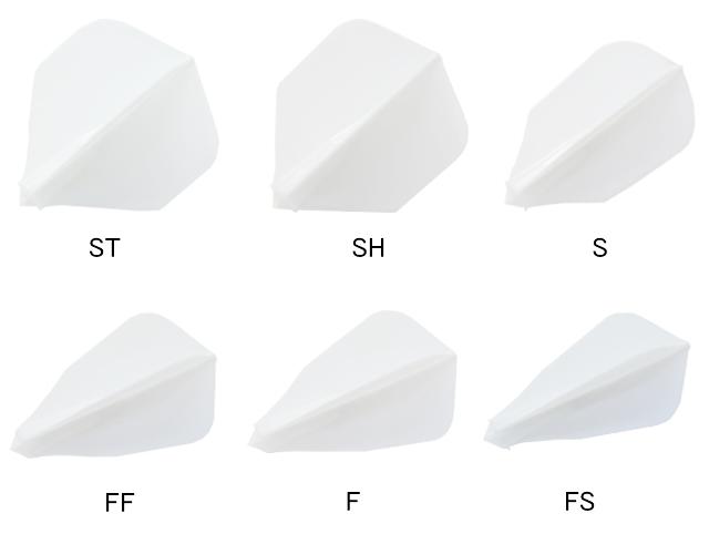 ジョーカードライバーのゼロフライトの形状6種類