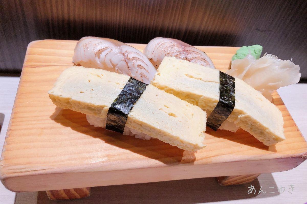 卵のお寿司