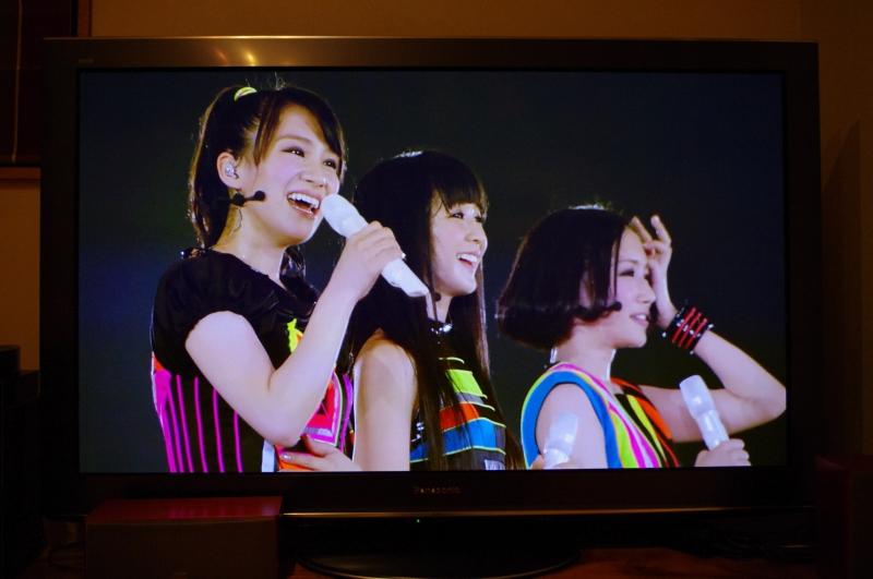 Perfumeの東京ドームライブ