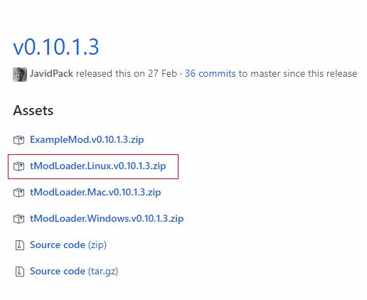 Tmodloader Server Linux