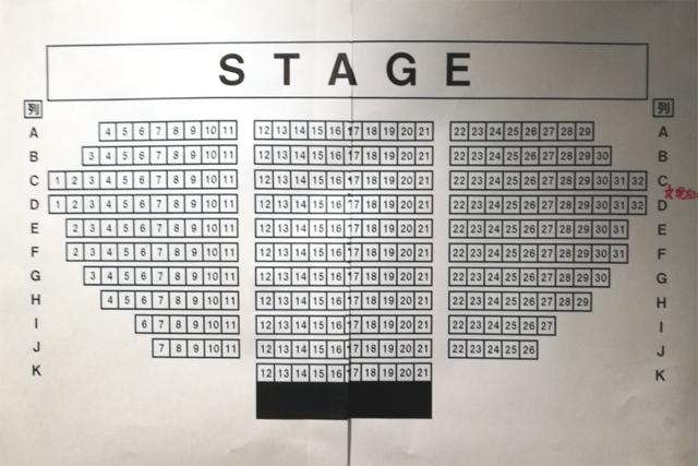 新宿ReNY 座席表