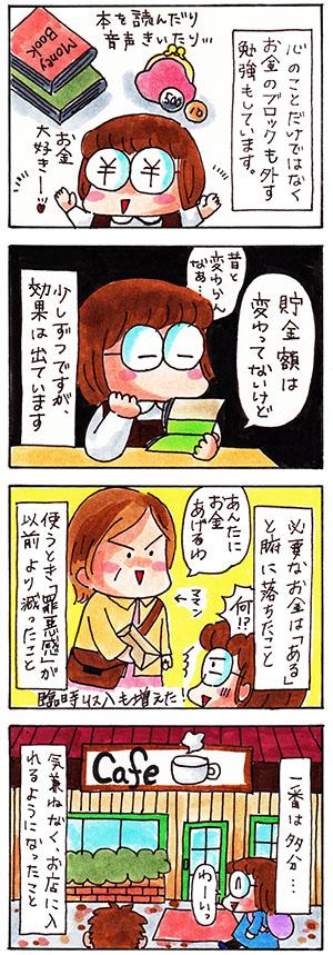 お金についての日記漫画