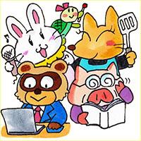 にほんブログ村オリジナルバナーイラスト