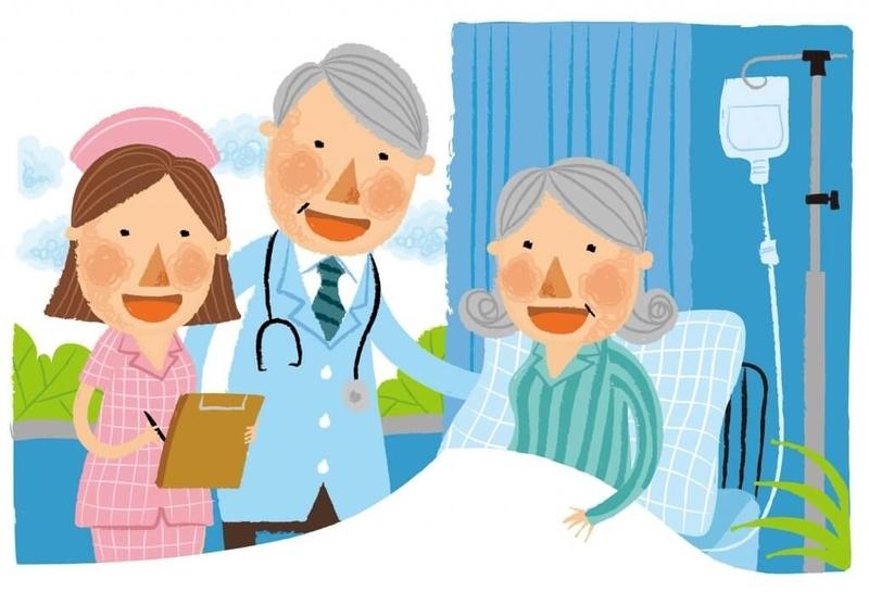 居宅療養管理指導のイラスト