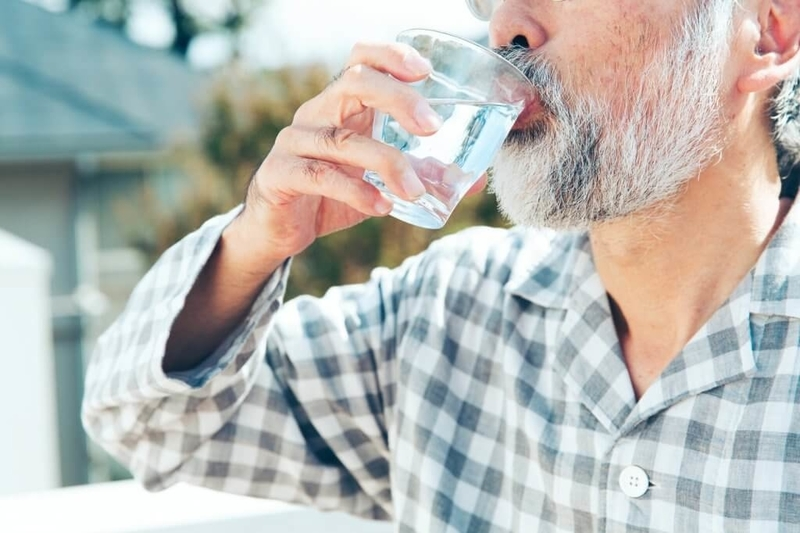 高齢者の脱水症状対策