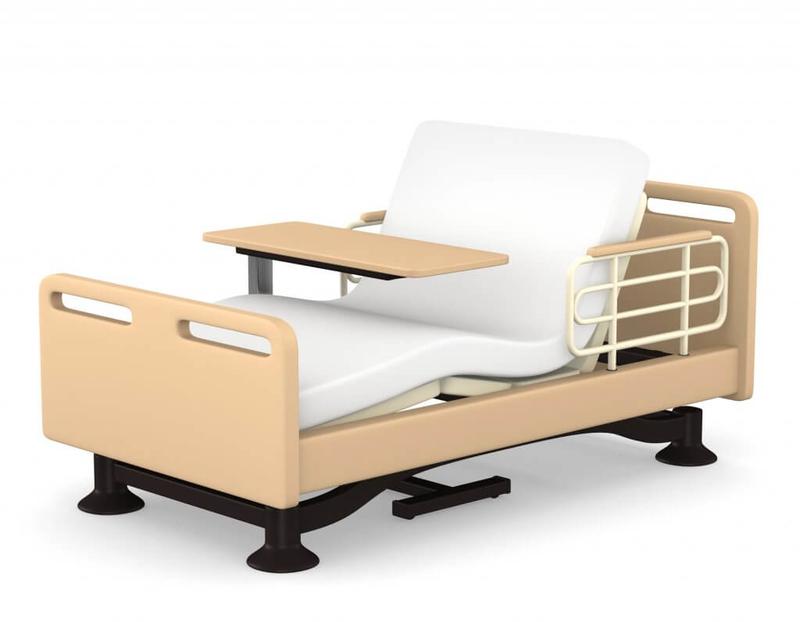 特殊寝台のイラスト