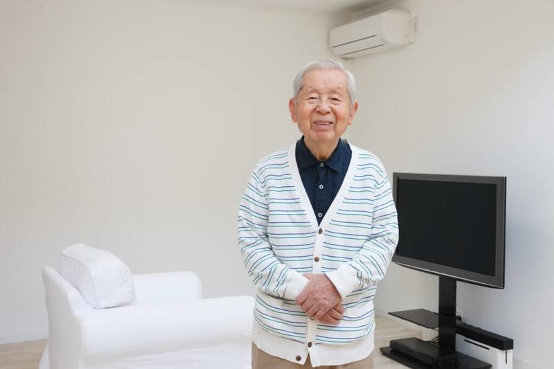 養護老人ホームの利用者イメージ