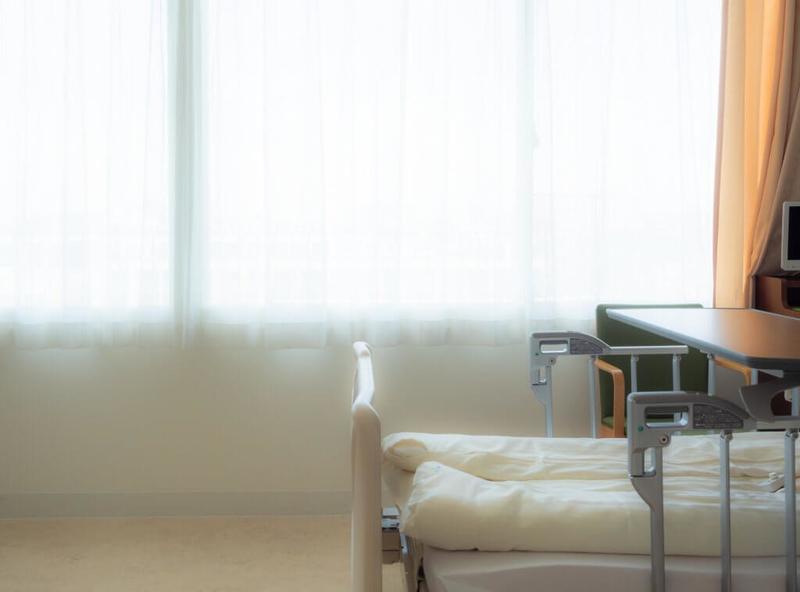 介護療養型医療施設の居室イメージ