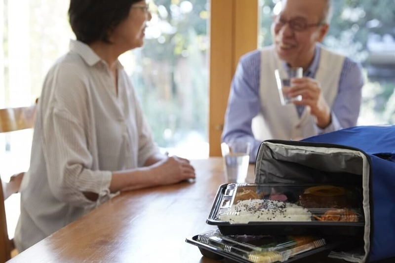 高齢者の食事宅配