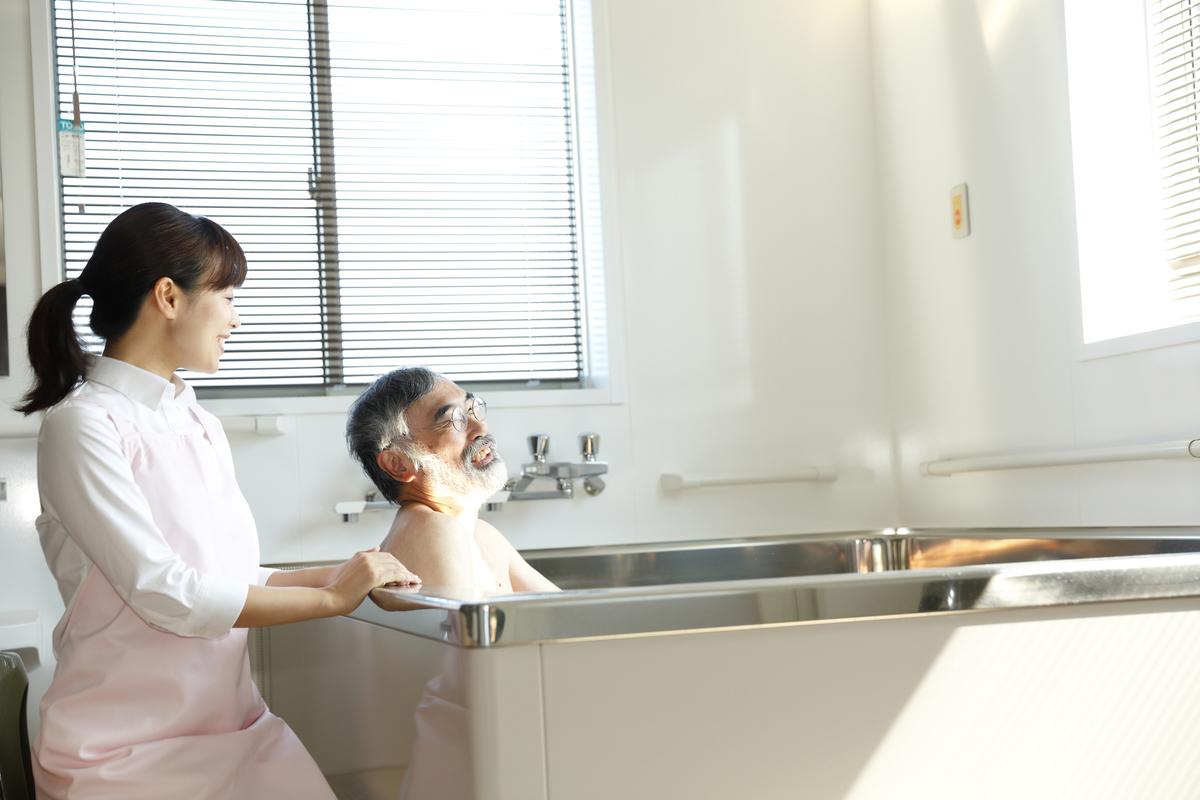 入浴補助のイメージ