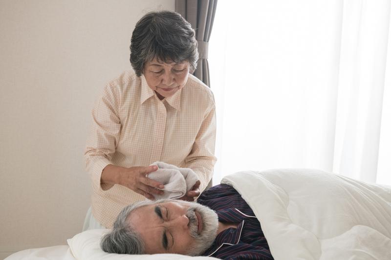 寝たきりの方の介護