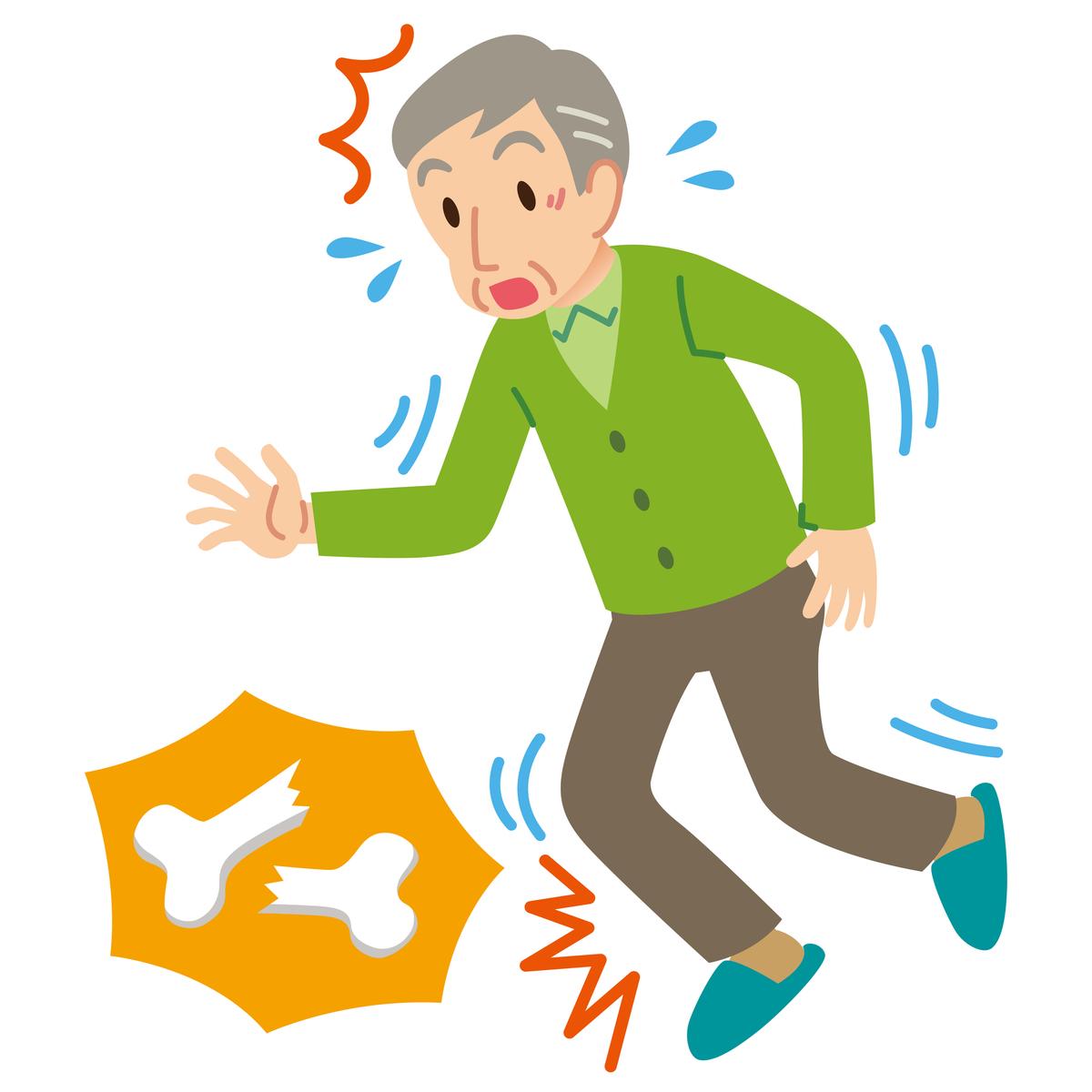 高齢者に多い骨粗鬆症(こつそしょうしょう)とは?