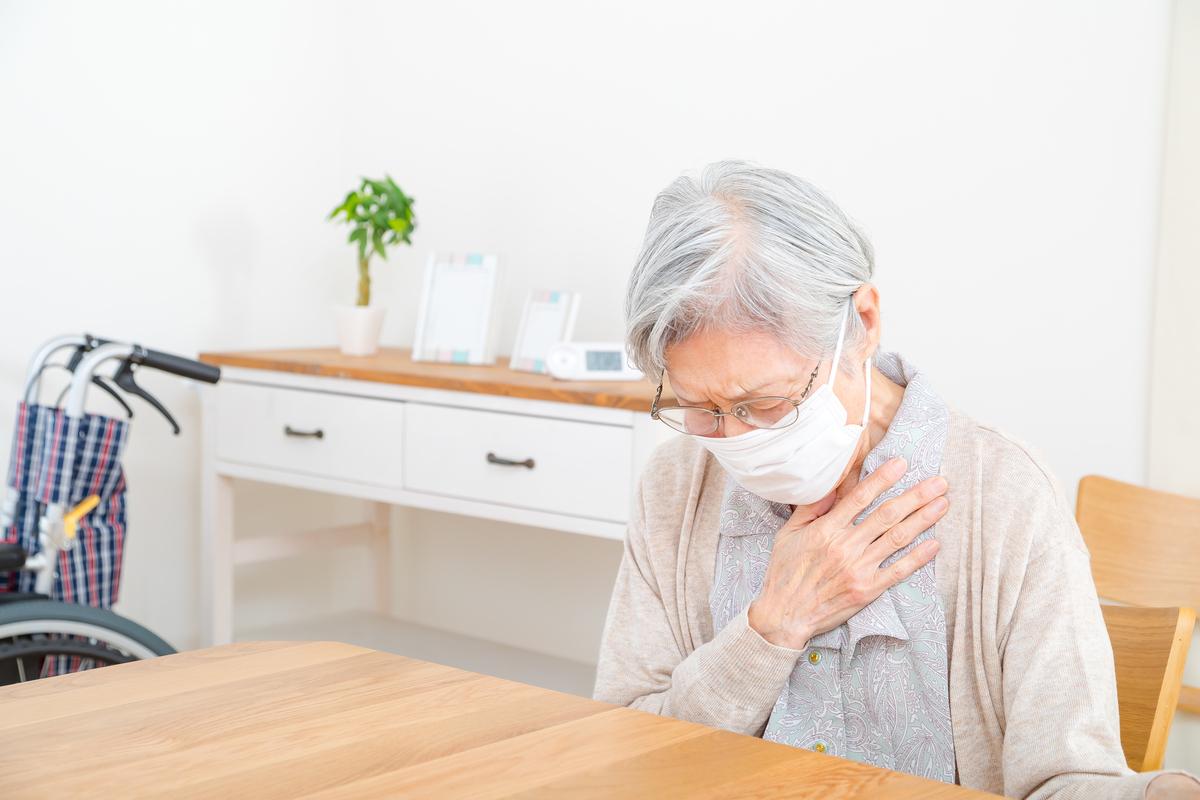 高齢者の肺炎の症状