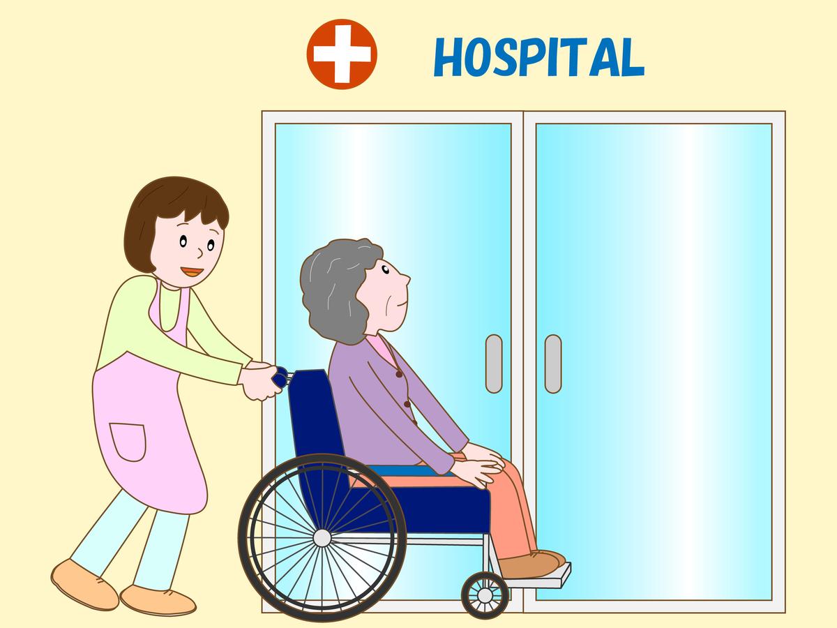 こんな時には介護保険外の通院介助サービスを