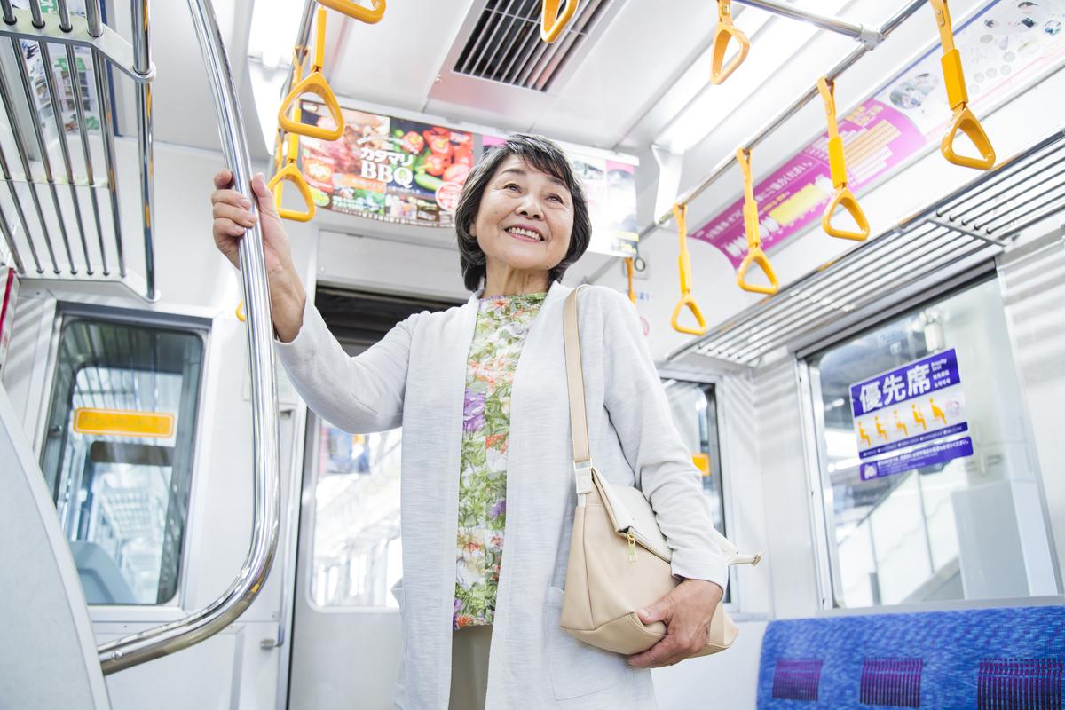 シルバーパスは東京都の「福祉乗車券」