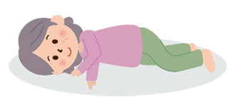 体位の種類:仰臥位