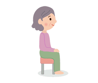 体位の種類:座位