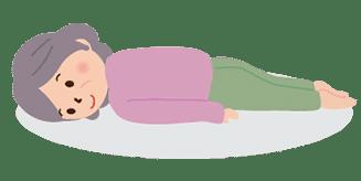 体位の種類:腹臥位