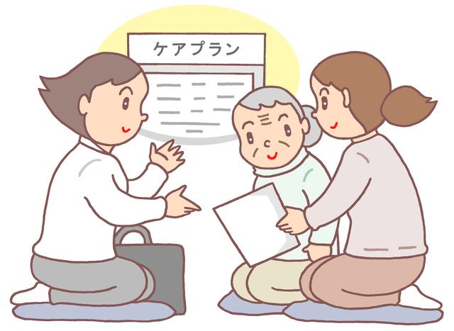 ケアプランの作成や管理・介護サービス業務