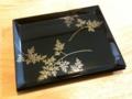 うるわし屋で購入した漆器の角皿