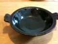 [うつわ]八坂の塔前の中谷で購入した、稲葉直人さんのグラタン皿
