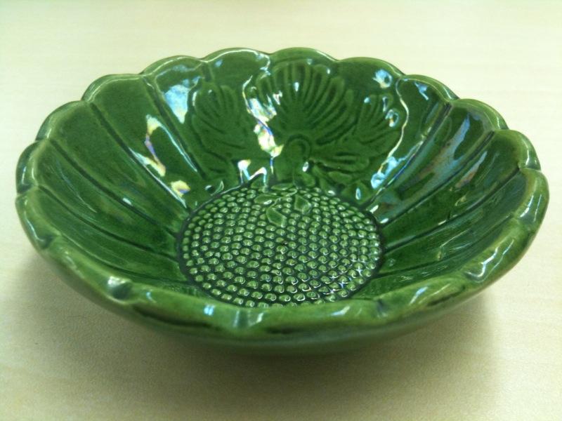 珉平焼の小皿