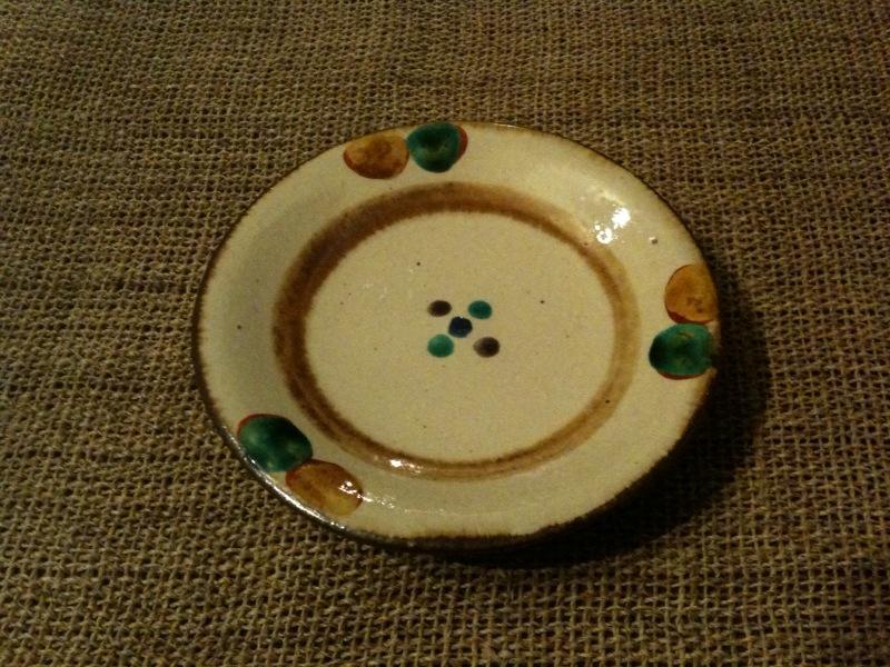 松田米司さんの4.5寸皿