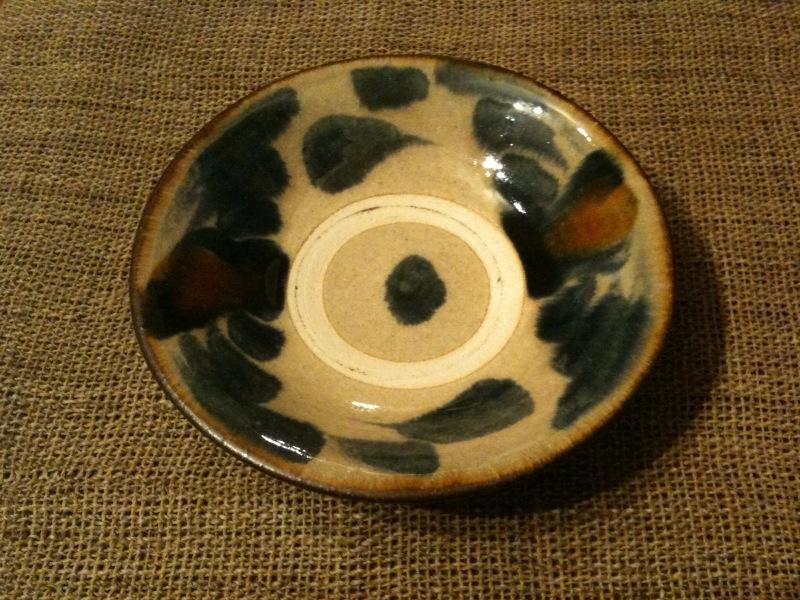 松田米司さんの6寸皿