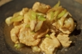 [自炊]鶏胸肉の生姜焼き