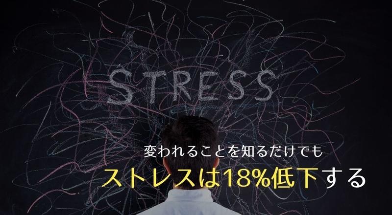 【ストレス対策】人は変われると知るだけでもストレスに強くなる