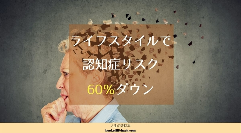 認知症のリスクはライフスタイルで60%も変わる