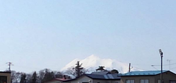 2020年3月19日の岩木山の写真