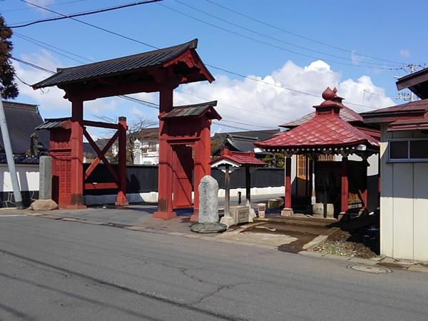 弘前市禅林街 赤門の写真