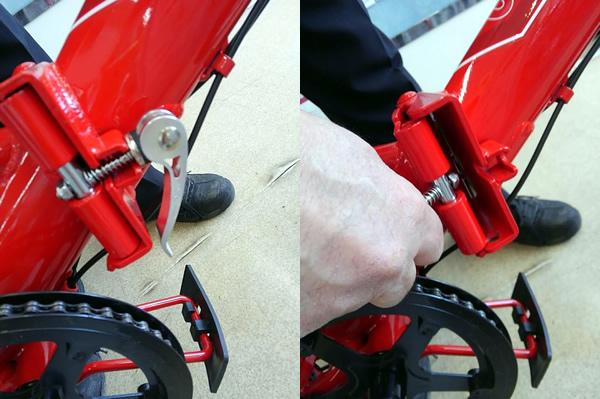 折り畳み自転車の折り畳み1