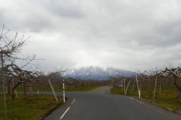 2020年4月24日の岩木山の写真